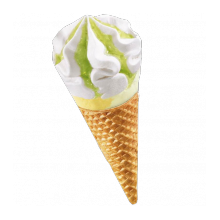 Glace italienne Ananas