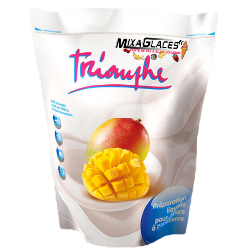 Mix à glaces Mangue