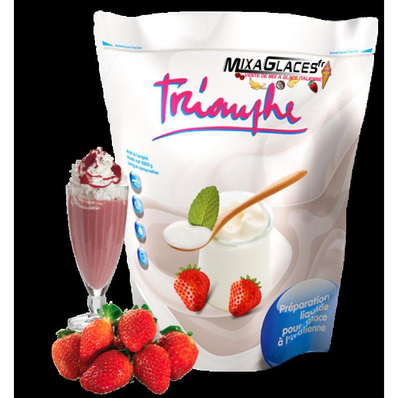 mix à glace Yaourt Fraise