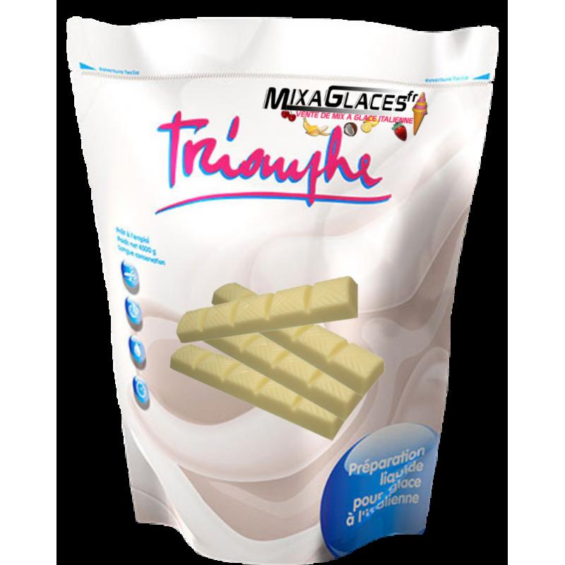 Mix à glaces Chocolat Blanc