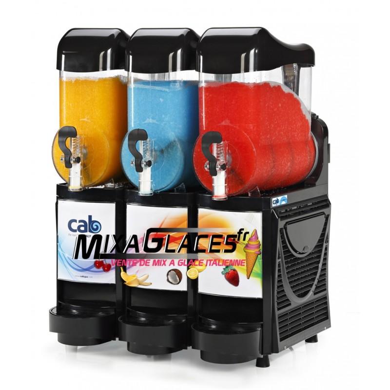 machine à Granités - 3 x 10 litres noir